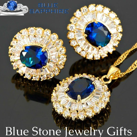 Blue Stone Jewelry Gifts