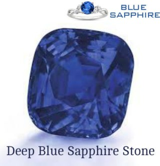 Deep Blue Sapphire Stone