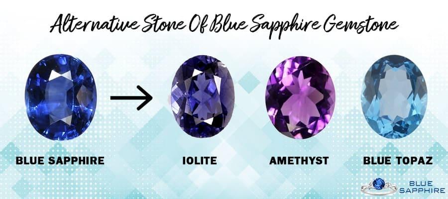 Alternative Gemstone Of Blue Sapphire
