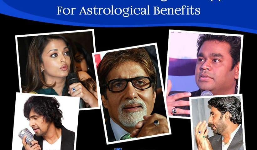 Famous Celebrities Wearing Blue Sapphire For Astrological Benefits