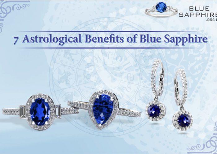 Blue Sapphire | 7 Astrological Benefits of Blue Sapphire Gemstone
